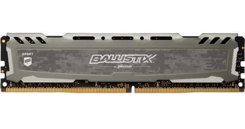 Memoria Desktop Gamer Ballistix Sports Lt 8gb Ddr4 3000 Mhz
