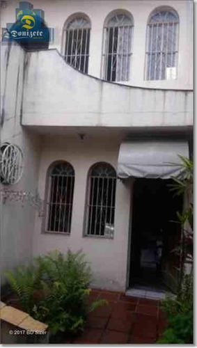 Sobrado Com 3 Dormitórios À Venda, 140 M² Por R$ 450.000,00 - Centro - Santo André/sp - So1282