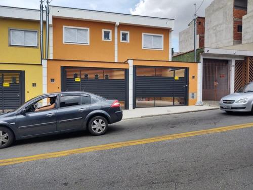 Imagem 1 de 15 de Sobrado Com 53 M² Sendo 2 Suítes, 2 Vagas À Venda Por R$ 405.000 - Parque Oratório - Santo André/sp - So0408