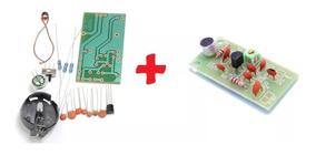 2 X Transmissor Fm Para Montar Eletrônica Barato Diy