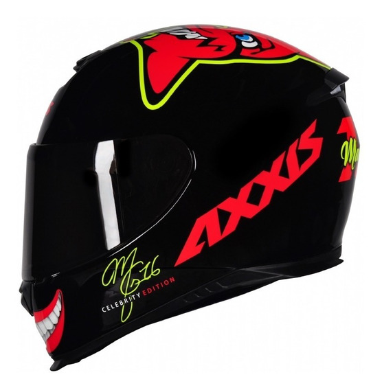 Capacete Mt/axxis Eagle Mg16 Celebrity Edition 55-56