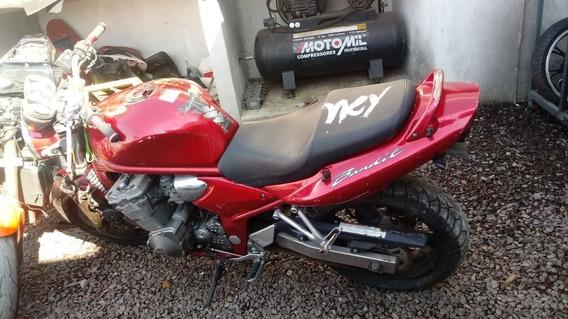 Moto Para Retirada De Peças / Sucata Bandit 600 Ano 2002