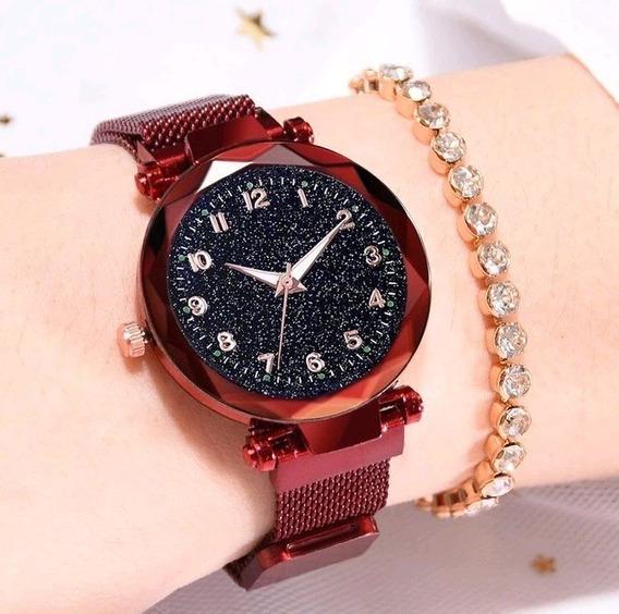 Relógio Feminino Novo Original Quartz Luxo