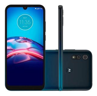 Smartphone Motorola Moto E6s 32gb 13mp Tela 61 Azul Navy