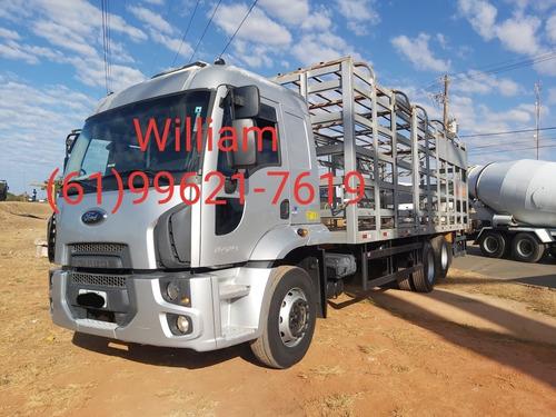 Ford Cargo 2429  Ano:15 Gaiola De Gás