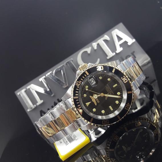 Relogio Invicta Unissex Pro Diver 8927ob Original Prata