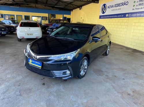 Imagem 1 de 11 de Toyota Corolla Xei 2.0 Preto 2019