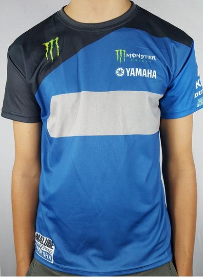 Camiseta Yamaha Fox Ama Supercross 2019 Dry Fit Sublimada