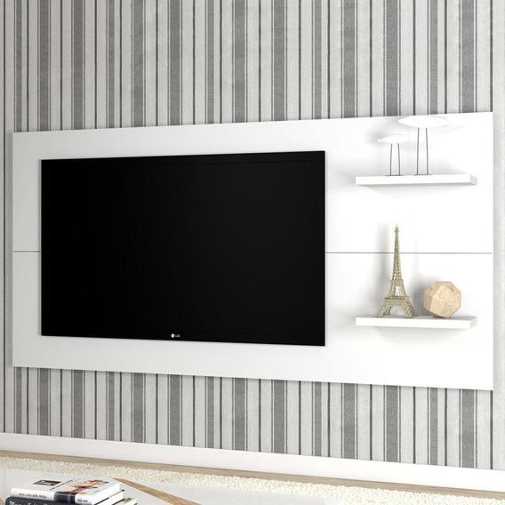 Painel Para Tv Até 55 Polegadas Giz Branco - Mobilarte