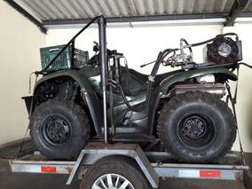 Quadriciclo Honda - 420 - Preparado Para Coleta De Solo