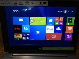 Computadora Lap Top Acer One 10 Excelente Estado