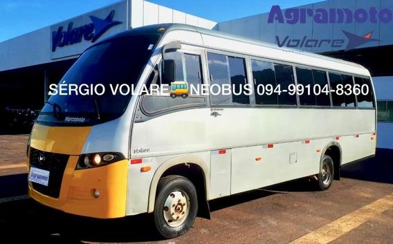 Micro Ônibus Volare W9 Executivo Cor Prata Ano 2010/2010