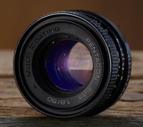 Lente M42 Pentacon 50mm 1.8 Objetiva Full Frame