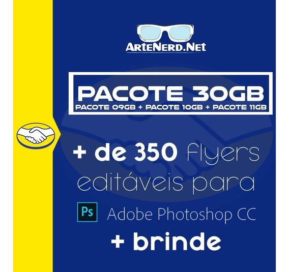 Pacote 30gb Flyer Psd De Photoshop Editável Festas E Bandas