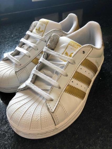 Tênis adidas Super Star Tamanho 29