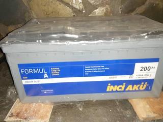 Baterías Inci Aku 200aph 4d Ciclo Profundo Heavy Duty Gel