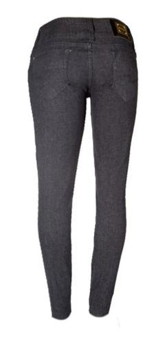 Calça Jeans Feminina Preta Tam 40 Ref 1541