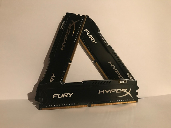 Memória Desktop Kingston Hyperx Fury 4gb 2400mhz Ddr4 Black