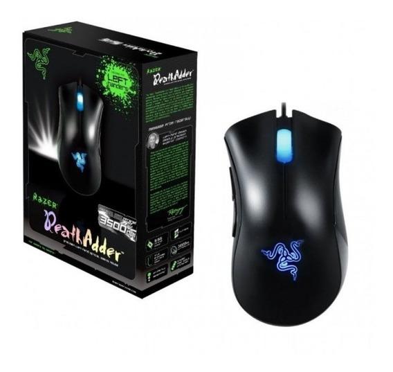 Mouse Razer Deathadder 3500dpi 3.5g C/ Caixa Brinde Adesivo