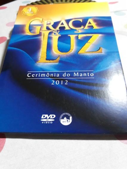 Box Dvd Graça & Luz Cerimonia Manto Nossa Senhora Aparecida!
