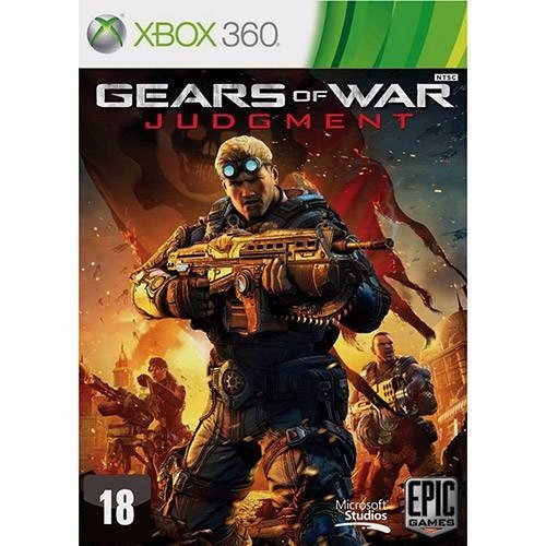 Game Xbox 360 Gears Of War Judgment - Usado - Excelente