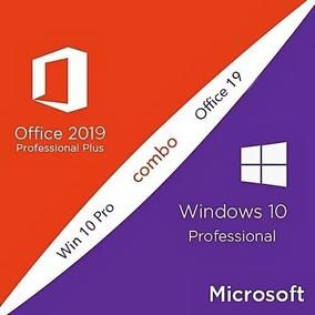 Windows 10 Pro + Office 2019 Key Original 32/64 Bits