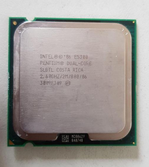 Processador Intel Dual Core E5300 2,60ghz Usada Ref: 01544