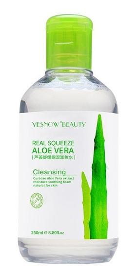 Yesnow Agua Micelar Détox Reduce Poros Aloe Vera Desmaquilla