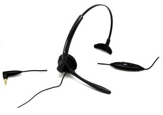 Plantronics Corded Headset Over Cabeza O Over Ear Con Micróf