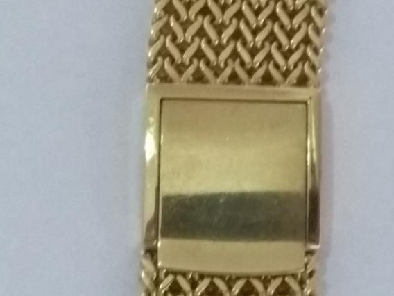 Pulseira Ouro Maciço 18k Relógio