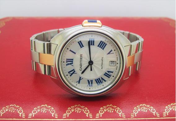 Cartier Clé Aço Eouro Rose Modelo Novo!!