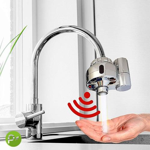 Imagen 1 de 8 de Sensor Grifería Adaptador Para Cocina O Baño Alta Eficiencia