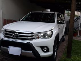 Toyota Hilux 4 X 4 D/c Srv 2.8 Tdi 6 A/t 2017.