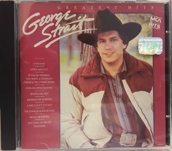 Cd George Strait - Greatest Hits - Country