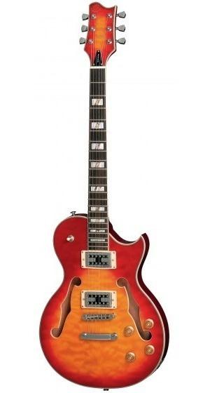 Guitarra Eagle Golden Gsh-560 Yb Amarela Les Paul - Refinado