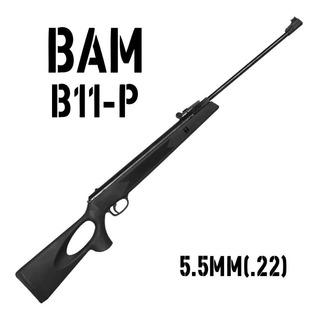 Carabina De Pressão Chumbinho Espingarda Bam B11-p 5.5mm