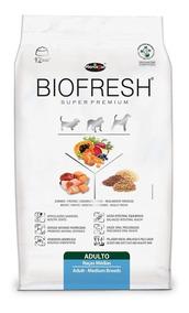 Ração Biofresh Para Cães Adultos De Raças Médias - 12kg
