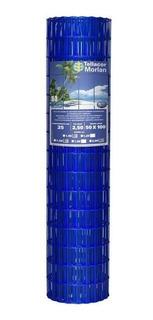 Tela Alambrado Soldada Revest.pvc Morlan, Azul,2,50mm, 2x25m