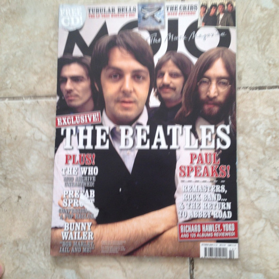 Revista Mojo 191 Out 2009 The Beatles The Cribs The Who