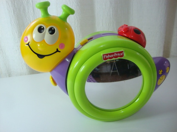 Caracol Musical -1-2-3 Crawl Along Snail-fisher Price-2009