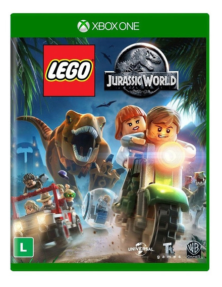 Lego Jurassic World Xbox One Mídia Física Original Dublado Em Português Lacrado