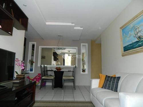Excelente Apartamento 3 Quartos, Condominio Completo, 96 M² Por R$ 630.000 - Badu - Niterói/rj - Ap20846
