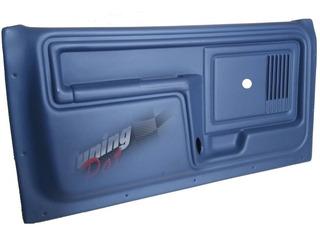 Juego De Paneles De Puerta Tapizados F-100 82/92 Plasticos -