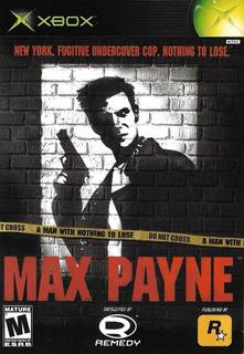 Max Payne Para Xbox Y Xbox 360