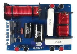 Crossover Pasivo Profesional 2 Vias 600w 6-8 Ohms 140-800