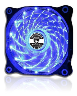 Cooler P. Case Xtreme Flow 15 Leds 120mm Led 1200rpm