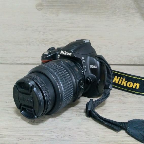 Máquina Fotográfica Nikon D3000 Dslr