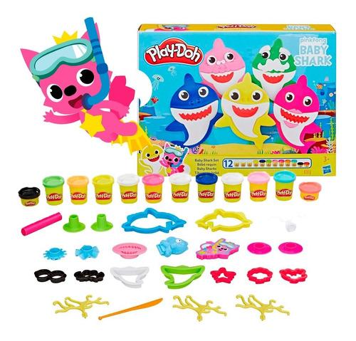 Play Doh Baby Shark Juguete Original Hasbro