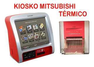 Vendo Kiosko Fotográfico Mitsubishi