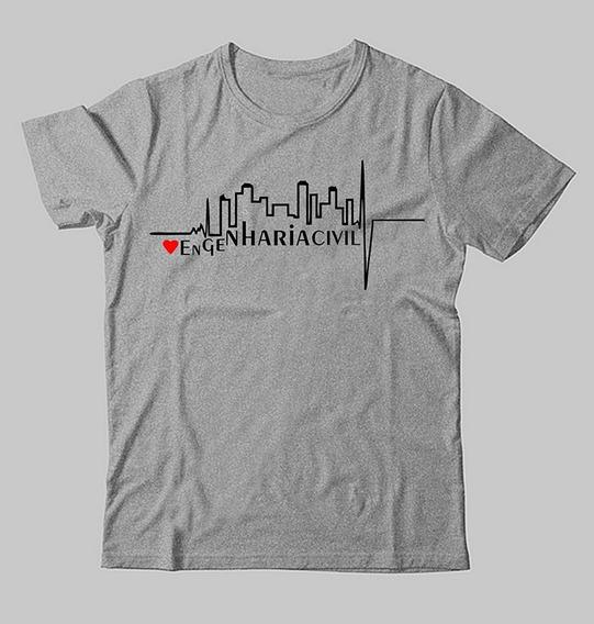 Camiseta De Cursos Engenharia Civil